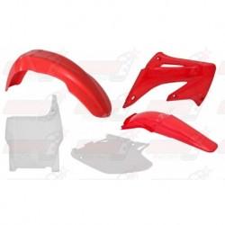 Kit plastique 5 pièces R'Tech origine pour Honda CR 125-250 (2004-2007)