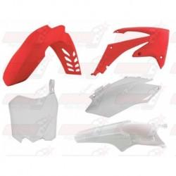 Kit plastique 5 pièces R'Tech origine  pour Honda CRF 250 (2011-2013) et CRF 450 (2011-2012)