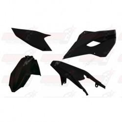 Kit plastique 4 pièces R'Tech noir pour Husqvarna TE/FE 125-250-300-350-450-501 (2015-2016)
