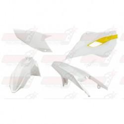 Kit plastique 4 pièces R'Tech origine pour Husqvarna TE/FE 125-250-300-350-450-501 (2015-2016)