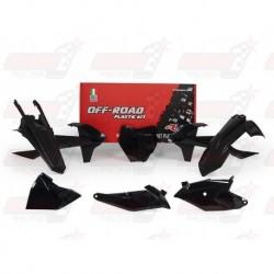 Kit plastique 6 pièces R'Tech noir pour KTM SX 85 (2018)