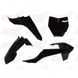 Kit plastique 4 pièces R'Tech noir pour KTM SX 65 (2016-2017)