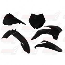 Kit plastique 5 pièces R'Tech noir pour KTM SX 85 (2013-2017)