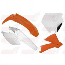 Kit plastique 4 pièces R'Tech origine pour KTM SX 85 (2006-2012)