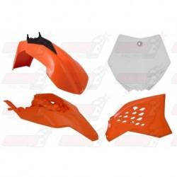 Kit plastique 4 pièces R'Tech origine pour KTM SX 65 (2012-2015)