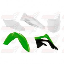 Kit plastique 5 pièces R'Tech origine pour Kawasaki KXF 450 (2013-2015)