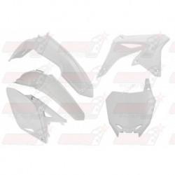 Kit plastique 5 pièces R'Tech blanc pour Suzuki RMZ 250 (2010-2017)