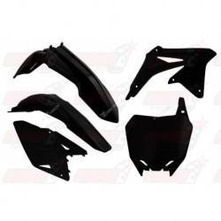 Kit plastique 5 pièces R'Tech noir pour Suzuki RMZ 450 (2008-2017)