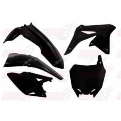 Kit plastique 5 pièces R'Tech noir pour Suzuki RMZ 250 (2010-2017)