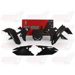 Kit plastique 5 pièces R'Tech noir pour Suzuki RMZ 450 (2018)