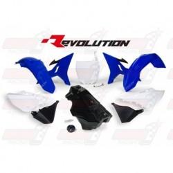 Kit plastique R'Tech Revolution YZ pour Yamaha YZ 125-250 (2002-2017) / WR 250 (2016-2017)