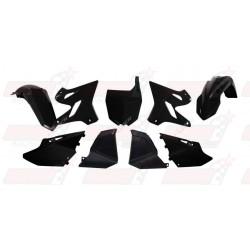 Kit plastique 6 pièces R'Tech noir pour Yamaha YZ 125/250 (2002-2017)