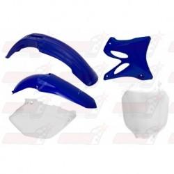Kit plastique 5 pièces R'Tech origine pour Yamaha YZ 125/250 (2002-2005)