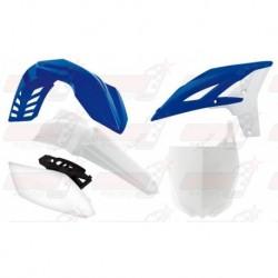 Kit plastique 4 pièces R'Tech bleu/blanc pour Yamaha YZF 250 (2010-2013)