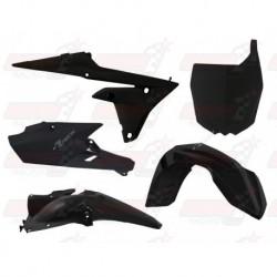 Kit plastique 5 pièces R'Tech noir pour Yamaha YZF 250/450 (2014-2017) YZ/FX 250 (2015-2017) YZ/FX 450 (2016-2017)