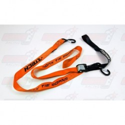 Paire de sangles 38 mm R'Tech orange 1.80 m