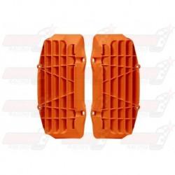 Grille de protection radiateur R'Tech orange pour KTM