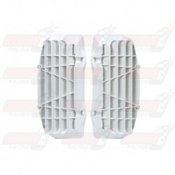 Grille de protection radiateur R'Tech blanche pour KTM