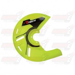 Protection de disque universel R'Tech jaune fluo