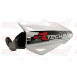 Protège-mains R'Tech Vertigo ATV couleur blanc avec kit montage