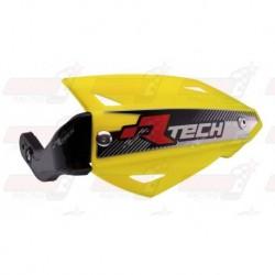 Protège-mains R'Tech Vertigo ATV couleur jaune RMZ avec kit montage
