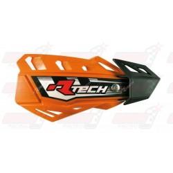Protège-mains R'Tech FLX couleur orange K avec kit montage