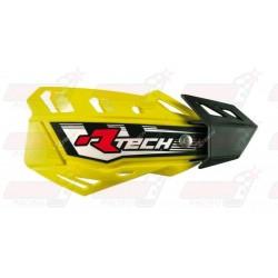 Protège-mains R'Tech FLX couleur jaune RMZ avec kit montage