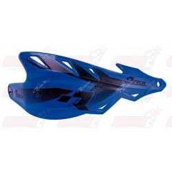 Protège-mains R'Tech Raptor couleur bleu YZF avec kit montage