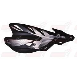 Protège-mains R'Tech Raptor couleur noir avec kit montage