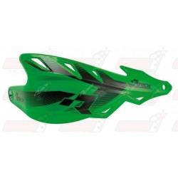 Protège-mains R'Tech Raptor couleur vert KXF avec kit montage