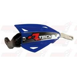 Protège-mains R'Tech Vertigo couleur bleu YZF avec kit montage alu
