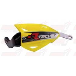 Protège-mains R'Tech Vertigo couleur jaune RMZ avec kit montage alu