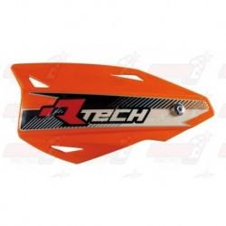 Protège-mains R'Tech Vertigo couleur orange K avec kit montage