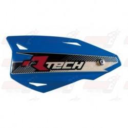 Protège-mains R'Tech Vertigo couleur bleu YZF avec kit montage