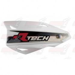 Protège-mains R'Tech Vertigo couleur blanc avec kit montage