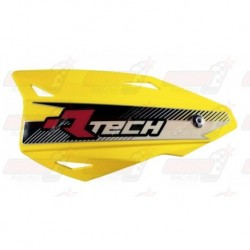 Protège-mains R'Tech Vertigo couleur jaune RMZ avec kit montage