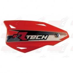 Protège-mains R'Tech Vertigo couleur rouge CRF avec kit montage