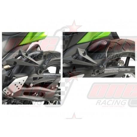 Lèche-roue noir R&G Racing pour Kawasaki Z750 R (2011-2012)