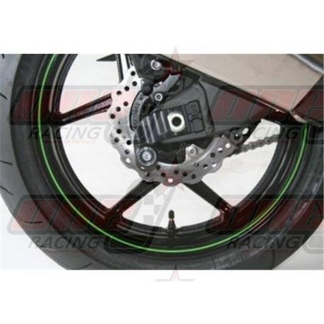Pions de bras oscillant avec platine R&G Racing pour Kawasaki ZX10R (2004-2010)