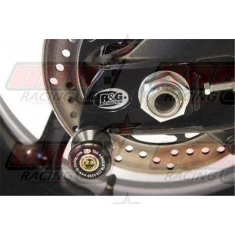 Pions de bras oscillant avec platine R&G Racing pour Suzuki GSX-R 1000 (2007-2013)