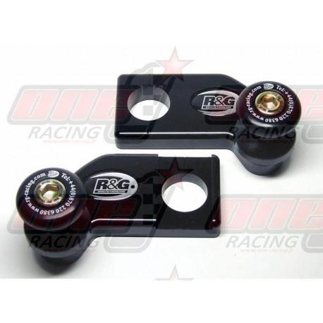 Pions de bras oscillant avec platine R&G Racing pour Aprilia RSV4 1000 (2009-2013)