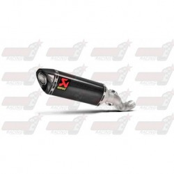 Silencieux Akrapovic S-A10SO8-RC finition carbone pour Aprilia RSV4 (2015-2016)