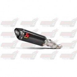 Silencieux Akrapovic S-A10SO7-HRC finition carbone pour Aprilia RSV4 (2015-2016)