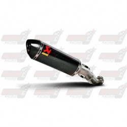 Silencieux Akrapovic S-A10SO6C-HZC finition carbone pour Aprilia RSV4 / Tuono V4 (2009-2014)