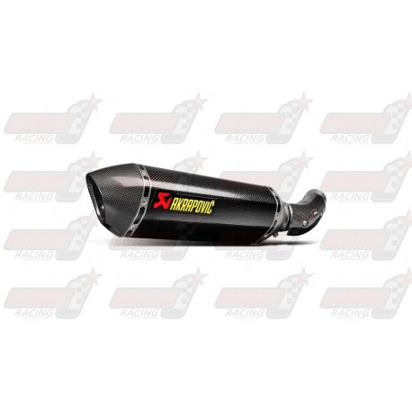 Silencieux Akrapovic S-B10SO2-HRC finition carbone pour Bmw S1000RR (2015-2016)