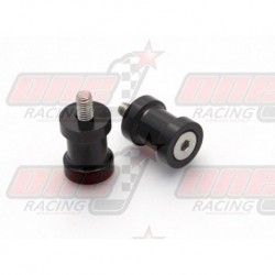Pions de bras oscillant R&G Racing M6 couleur Noir