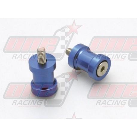 Pions de bras oscillant R&G Racing M6 couleur Bleu