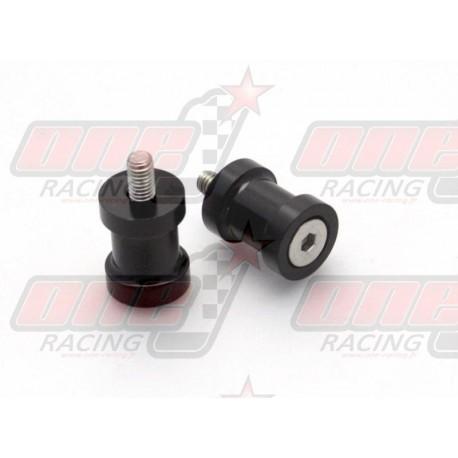 Pions de bras oscillant R&G Racing M8 couleur Noir