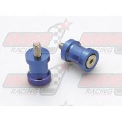 Pions de bras oscillant R&G Racing M8 couleur Bleu