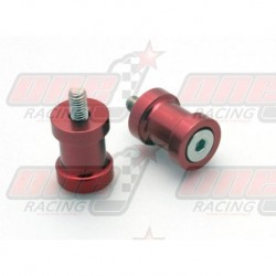 Pions de bras oscillant R&G Racing M8 couleur Rouge